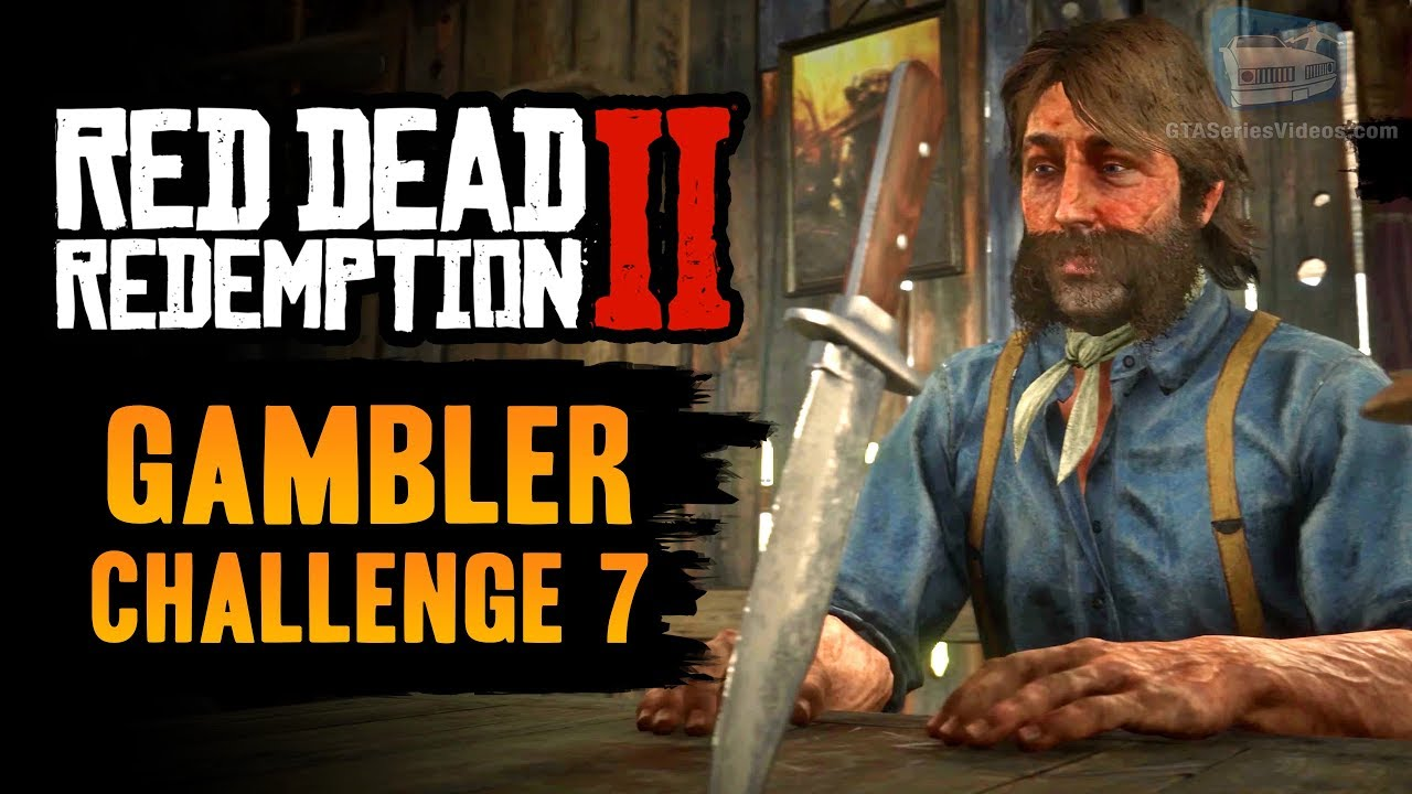 Red Dead Redemption 2 Gambler Challenge #7 Guide - Beat Five Finger Fillet in every location