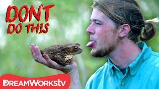 Kissing A Poisonous Toad!? | DON'T DO THIS