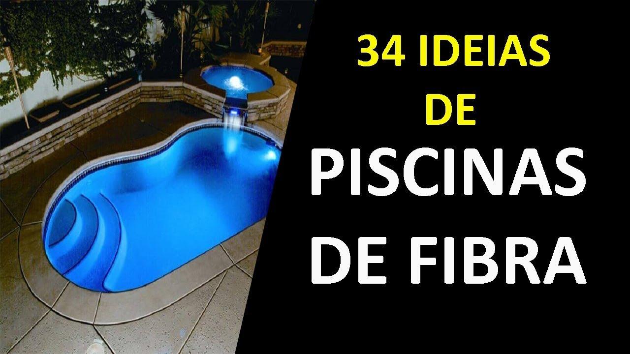 34 Ideias De Piscina De Fibra Pequena E Preco Sua Casa Nunca Mais