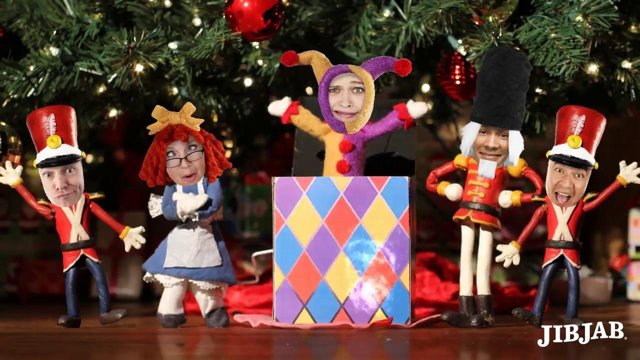Jibjab Christmas.The Buttcracker Jibjab Christmas Ecard