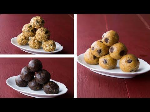 3 Healthy Energy Balls Recipe