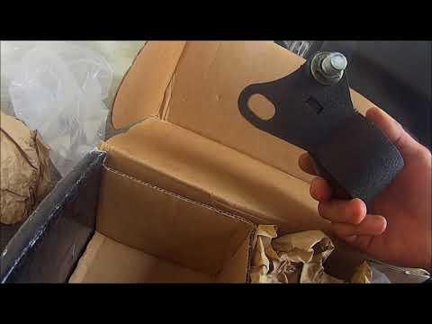 Innovative mounts install, to lessen vibration.