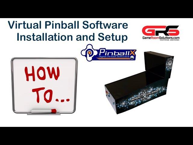 Virtual Pinball and PinballX Cabinet Complete Setup