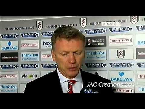 David Moyes Post Match Interview Fulham 1-3 Manchester United