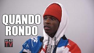 Quando Rondo: At 14 I got 2 Years in Juvenile Prison for a Gun & Stolen Car (Part 6)