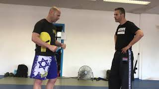 Defending Hooks & Uppercuts with Amnon Darsa at Expert Camp, Institute Krav Maga Netherlands.