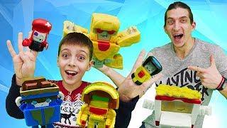 Transformers трансформеры. Игрушки Botbots и крутой челлендж. Участвуй в конкурсе и получи приз