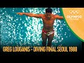 Greg Louganis hits his head - YouTube