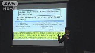 温暖化で速度が落ちる予測 台風被害が深刻化の恐れ(20/01/09)