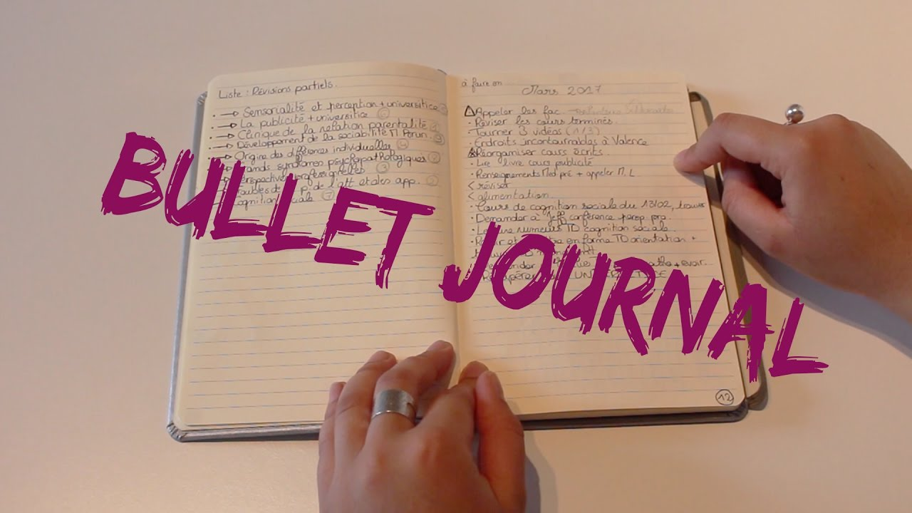 Tenir Un Bullet Journal Facile