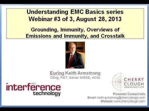 Understanding EMC Basics Part 3: Grounding, Immunity, Overviews of Emissions and Immunity,