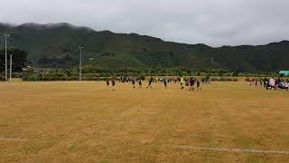 Numair shabbir malik playing rugby and made score😊