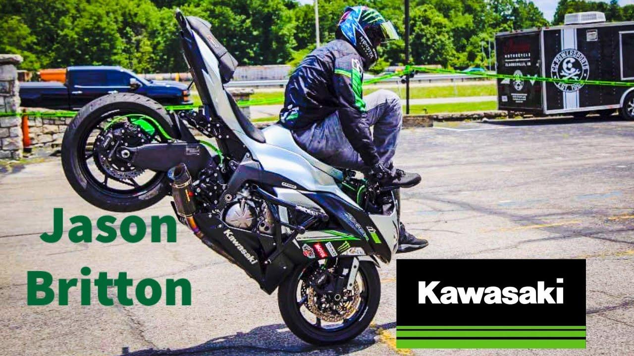 Jason Britton Motorcycle Stuntman