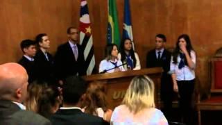 Apresentação do TCC dos Monstros Sagrados de Administração da Etec 2013