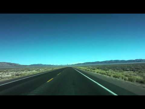"""Timelapse Drive - US Route 50 Nevada """"Loneliest Highway"""""""