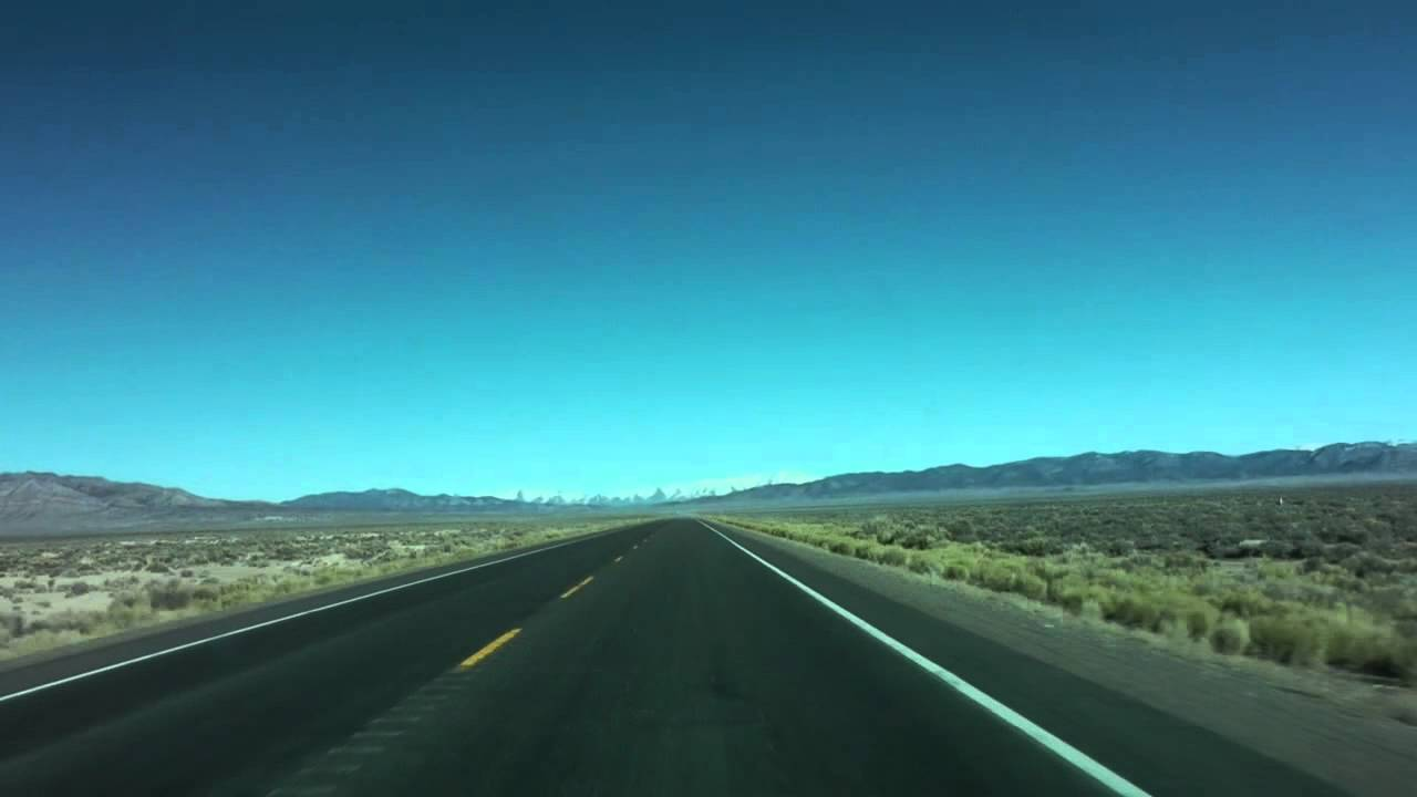 Timelapse Drive US Route Nevada Loneliest Highway YouTube - Map of us rt 50