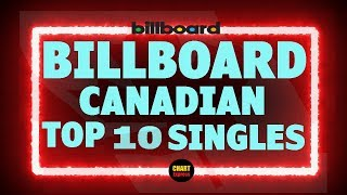 Billboard Top 10 Canadian Single Charts | March 21, 2020 | ChartExpress