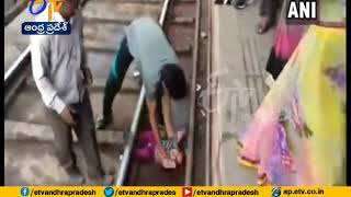 Watch Video | Baby Makes Miracle Escape From Train Accident | Madhura of UP