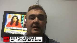VENEZUELA I Crisis final de Maduro