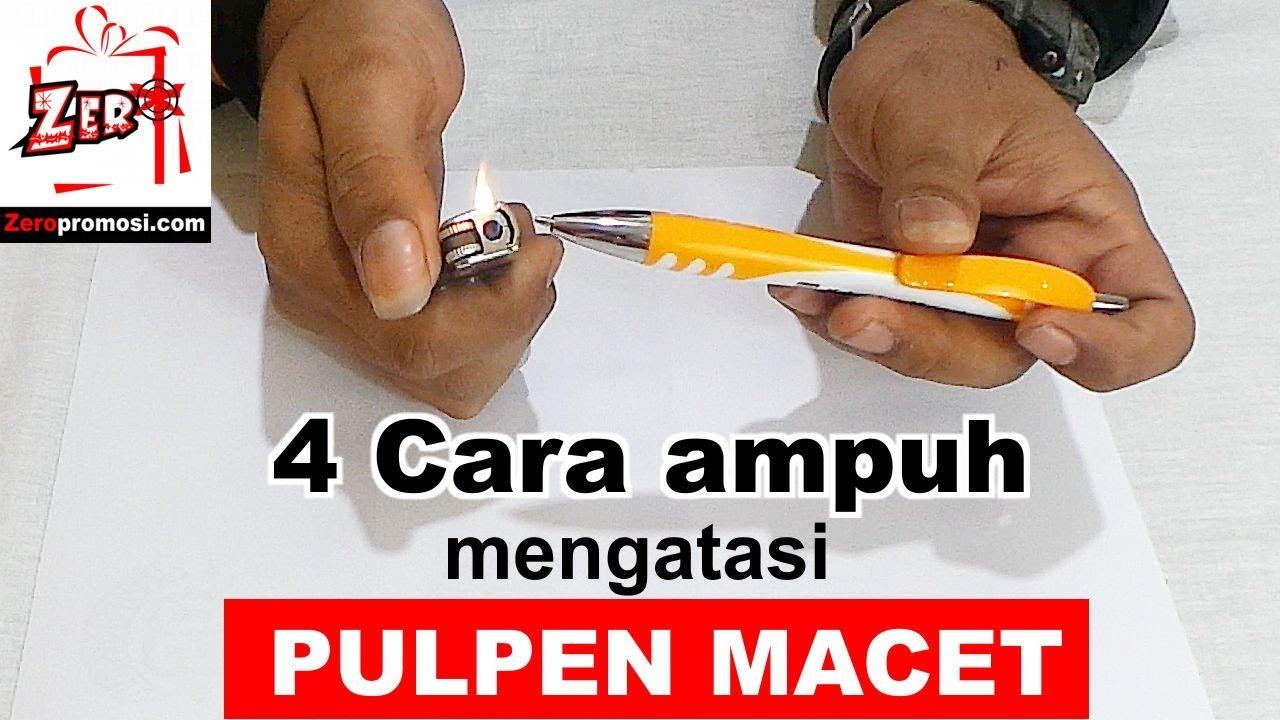 cara mengatasi pulpen macet