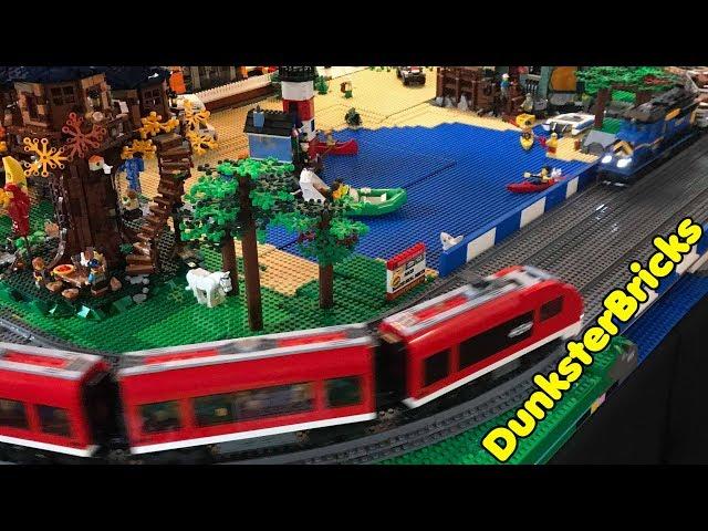 LEGO Railway Display for Oban Winter Bricks 2019
