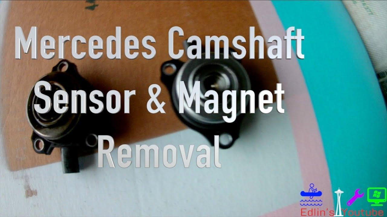 06+ Mercedes Tutorial - Camshaft Position Magnet & Position Sensor Removal