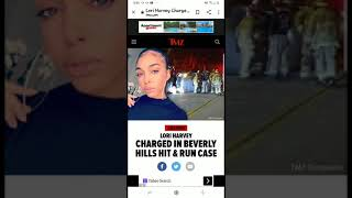 #LORIHARVEY #STEVEHARVEY DAUGHTER CRASHES WHILE TEXTING AND LEAVES THE SCENE