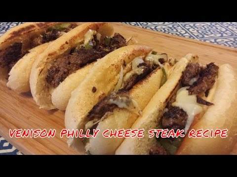 Venison Philly Cheese Steak Recipe