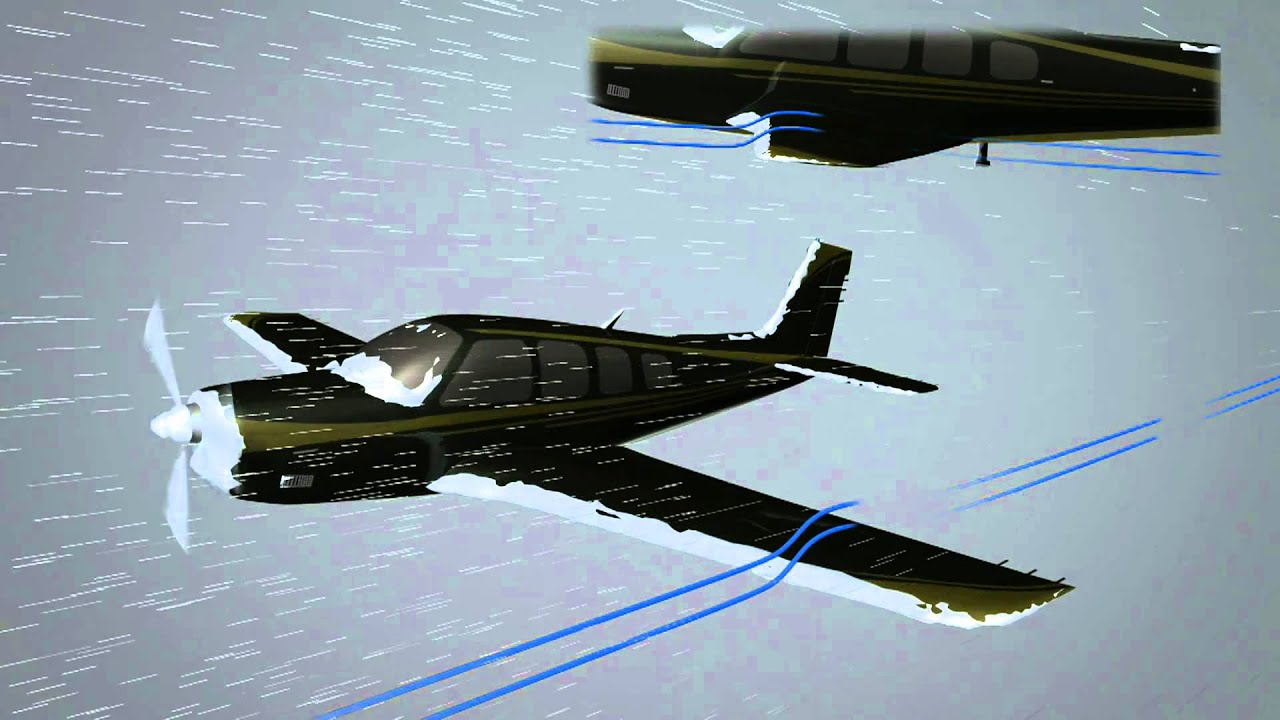 Aviation Animation How Ice Makes An Airplane Fall From