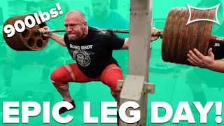 SQUAT MUTANTS | Four 900lb Squatters Crush EPIC Leg Workout!!