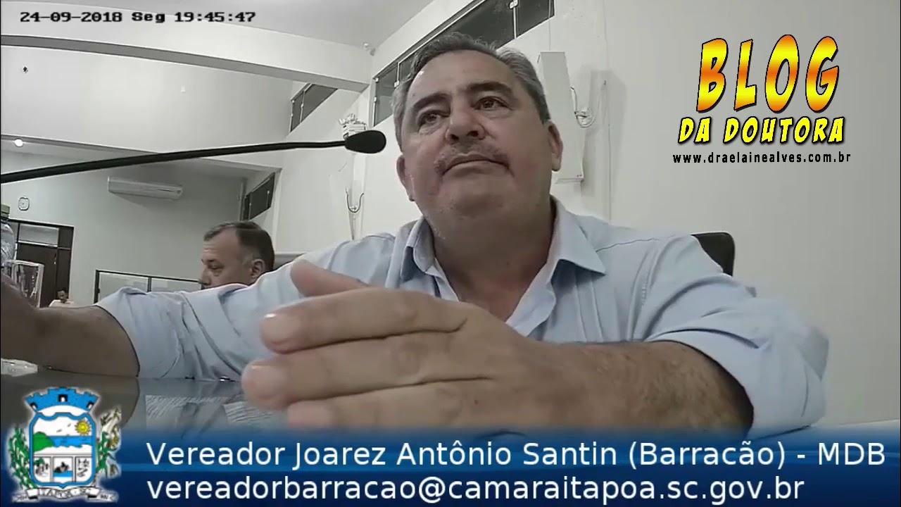 Vereador Barracão faz alerta sobre grave denúncias