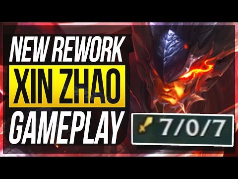 XIN ZHAO REWORK FULL GAMEPLAY - Is He Broken Now? - League of Legends