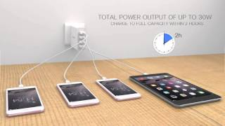 orico dcw 4u 4 port usb wall charger