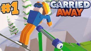 I'M  THE ULTIMATE SKI SLOPE BUILDER!! - CARRIED AWAY!! #1