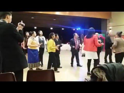 Irigny Nouvel An Hmong 2016 Danse Lamvong