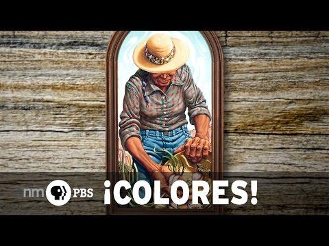 NMPBS ¡COLORES!: Painter Jim Vogel