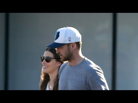 Justin Timberlake and Jessica Biel Are All Smiles in First Post-Baby Sighting Together