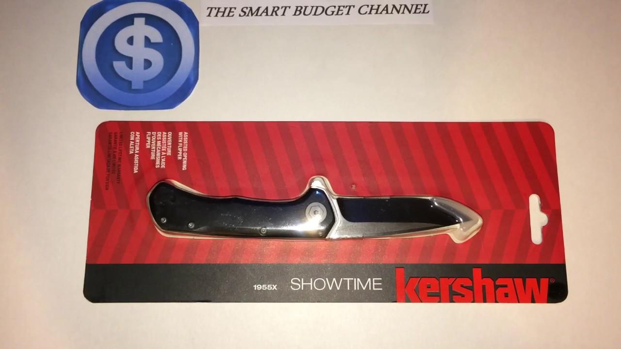 1d68d602d7 Kershaw Showtime 1955X Model knife Review (Cabela s item) - YouTube