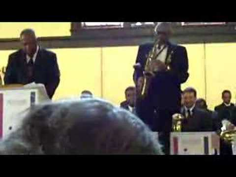 Andrew White, legendary D C  saxophonist still in the shadows