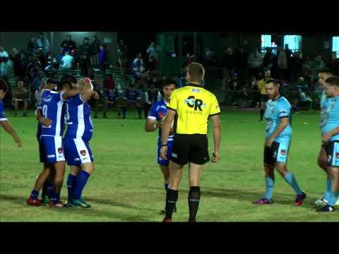 El Salvador v Uruguay Rugby League, Sep 30 2017  - First Half