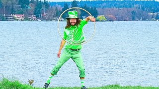 Hoopy The Leprechaun's Magical Hula Hoop Dance