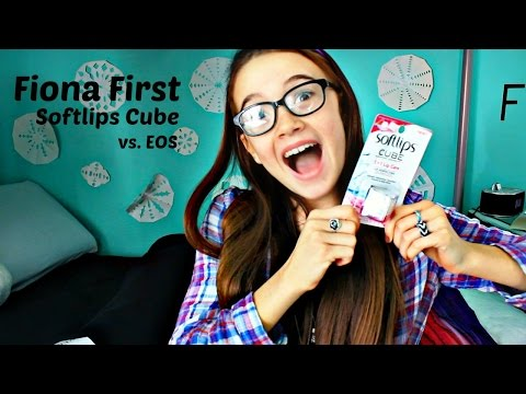 Softlips Cube vs EOS | Fiona's Fresh Face | Fiona Frills