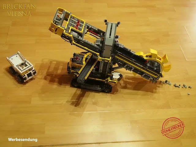 Stop Motion - Schaufelradbagger