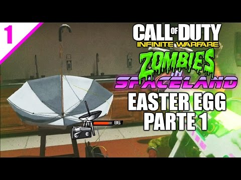 EASTER EGG PRINCIPAL SETI-COM STEP - Zombies In Spaceland - Infinity Warfare - PARTE 1