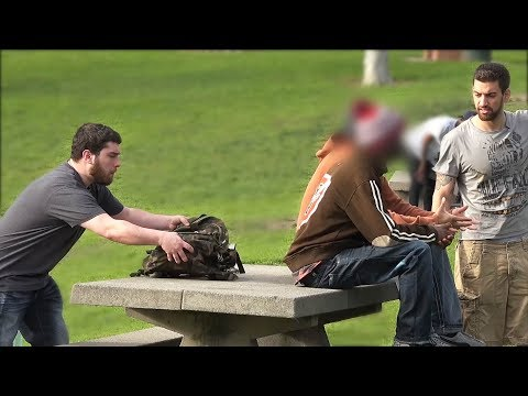 ROBBING PEOPLE (Social Experiment) - Public Pranks 2017