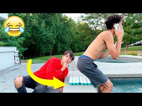 Funny PRANKS on TWIN BROTHER for 24 HOURS!