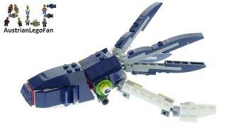 Lego Creator 31088 Squid Deep Sea Creatures Speed Build