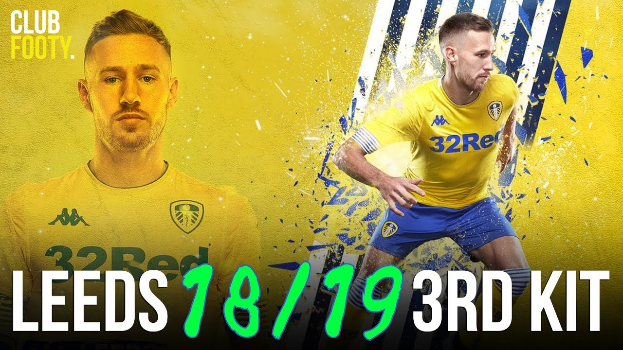 bd06afe57 Leeds United 2018 2019 Kappa THIRD KIT