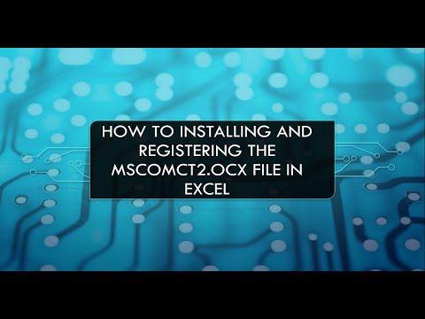 Learn How To Register MSCOMCT2.OCX File For Date Time Picker