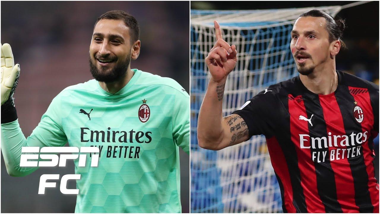 Is Gianluigi Donnarumma More Important Than Zlatan Ibrahimovic For Ac Milan Espn Fc Youtube